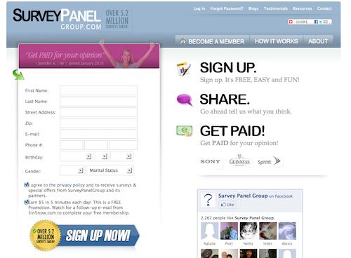 free online surveys for cash